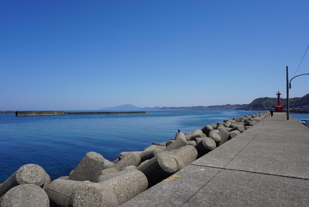 西堤防外洋側