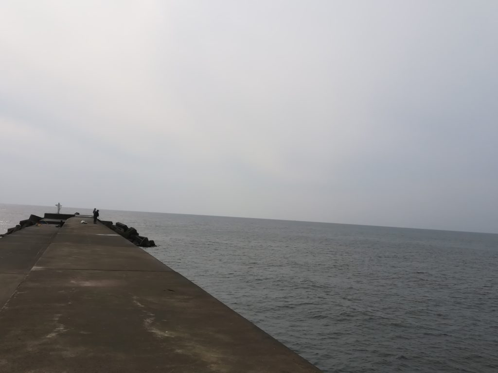 東堤防の様子