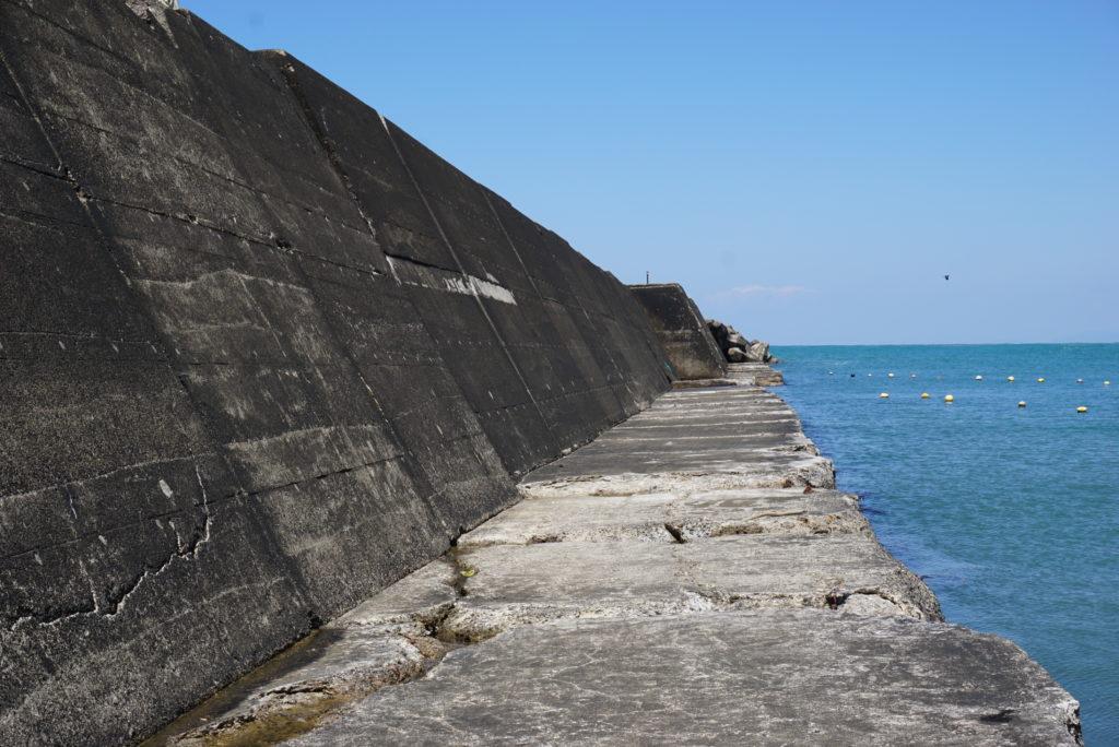西堤防中間部