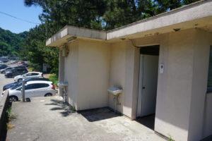 市振漁港のトイレ