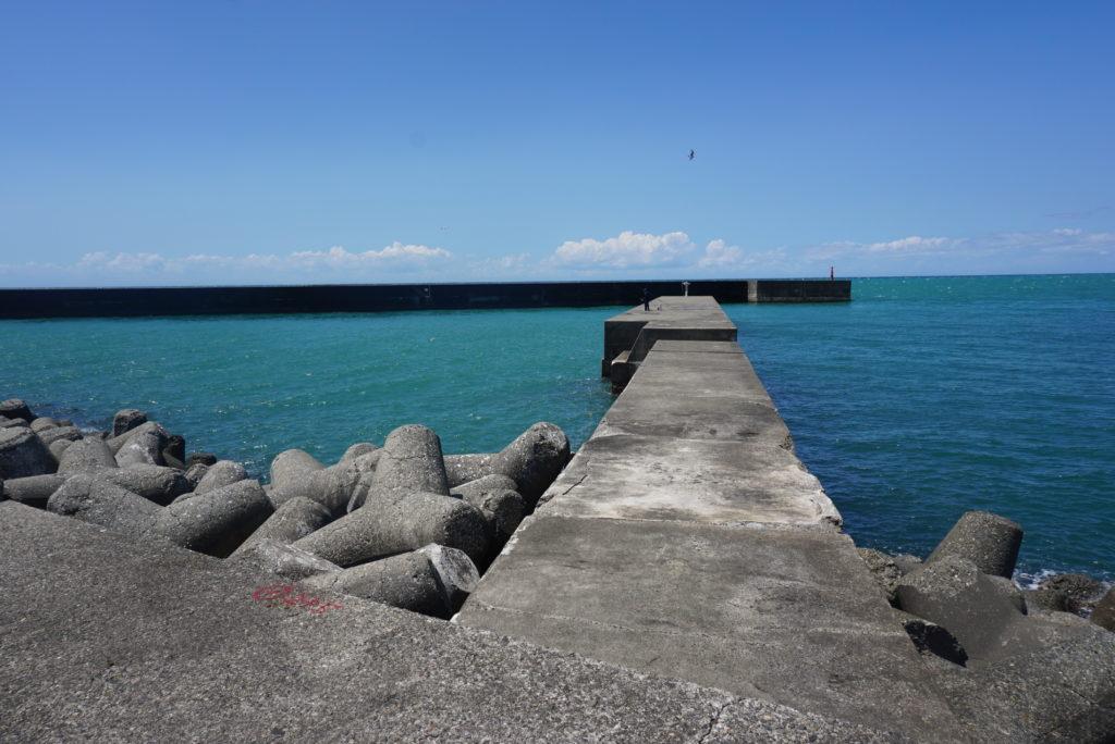 東堤防突堤