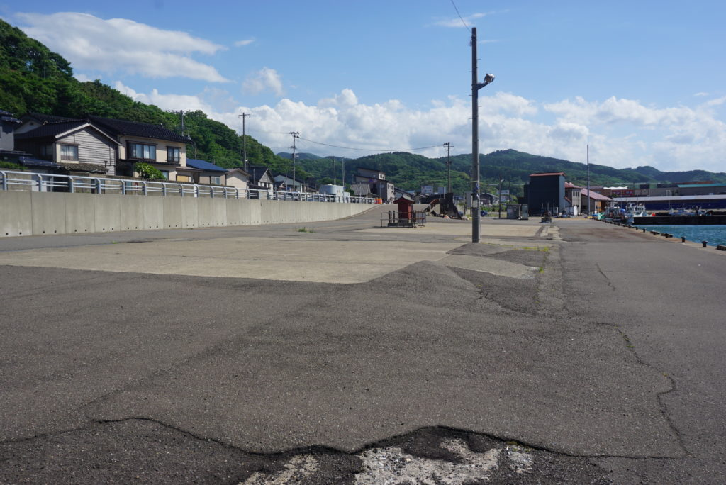 東堤防駐車スペース