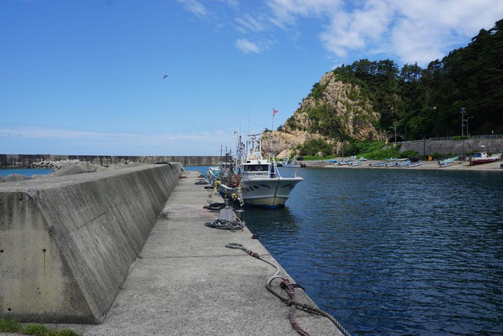 西堤防突堤