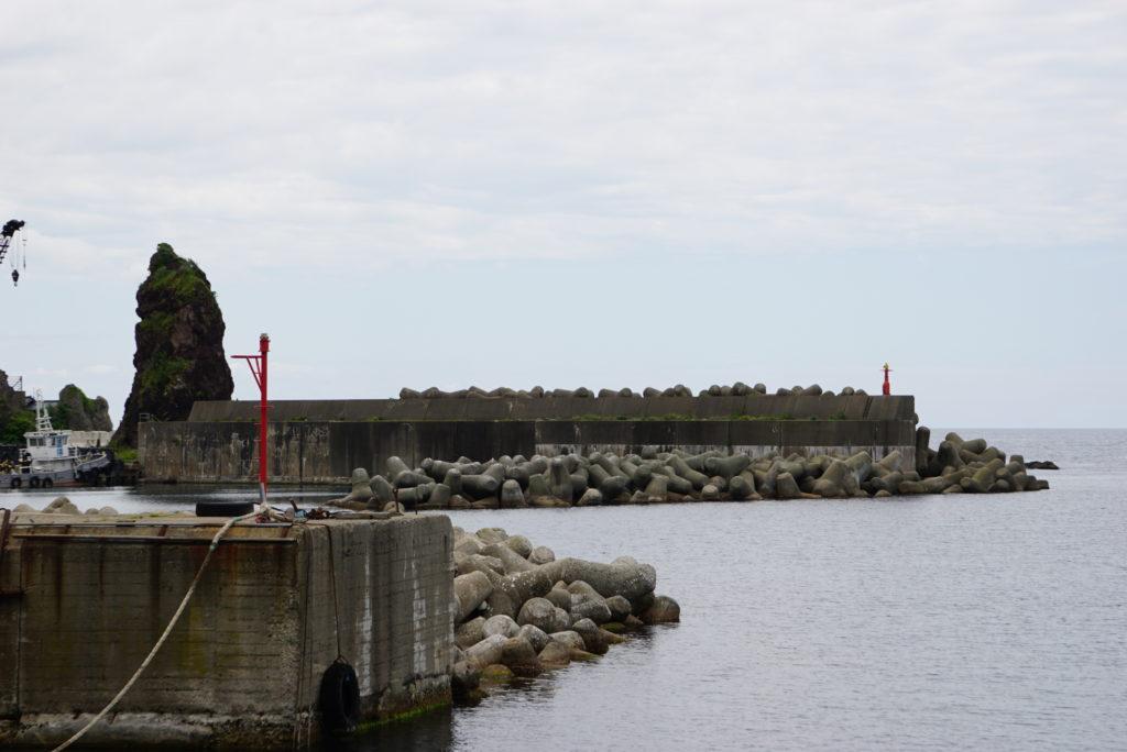 西堤防の様子