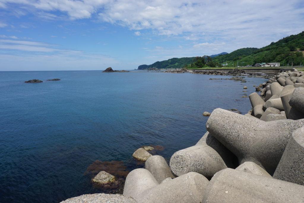 白灯台堤防の外洋